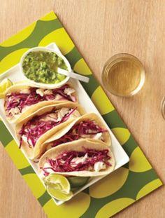 Tilapia Fish Tacos #recipe #yum www.thebump.com