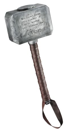 Deluxe Thor Hammer - Marvel's Thor Costume Accessories