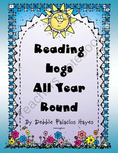 Reading Logs All Year Round from Debbie Palacios Hayes on TeachersNotebook.com (26 pages)  - A great way for students to track their reading all year round! (Includes summer months as well).