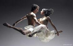 Dancers Martha Leebolt and Tobias Batley by Jason Toxer