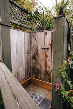 Outdoor Shower Design Ideas, Pictures, Remodel, and Decor - page 7
