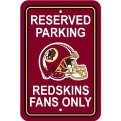 Redskins Fans Only.