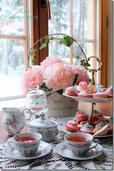 Pretty Afternoon Tea