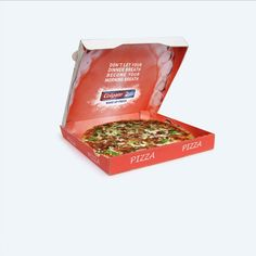 Advertising in pizza box  #colgate #toothpaste #advertising #pizza #mouth