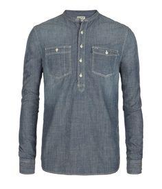 AllSaints men's chambray shirt.