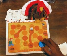 Chasing the Turkey Board Game to review music symbols and vocabulary.  www.susanparadis.wordpress.com