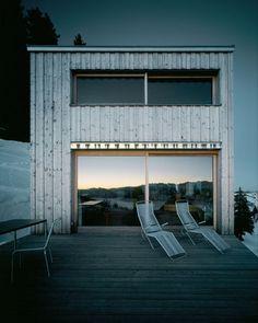 Andreas Fuhrimann Gabrielle Hächler — Holiday house on the Rigi/ Gersau, Scheidegg, Switzerland