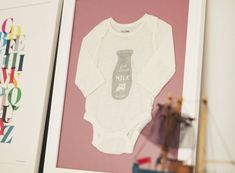 Frame Your Baby's First Onesie as a Keepsake