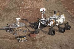 From 1997-2012, microwave oven to golf cart, 3 generations of Mars rovers. Sojourner, Spirit/Opportunity & Curiosity