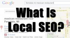 How does local search optimization work?