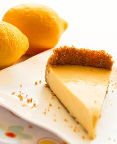Lemon Ice Box Pie  I love lemon desserts – especially at this time of year is just so refreshing looking!