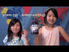 metric measurement: Gram and Kilogram video