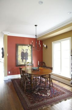 Dining room by by Jane Hall Design featured on HGTV