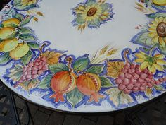 mesa de pedra lavica