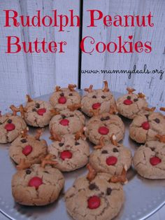 Rudolph Peanut Butter Cookies #FueledByMM #shop #cbias