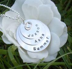 Here is one of my pendants from my website www.handstampedbybeez.com