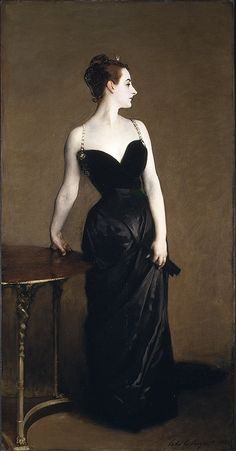 Madame X (Madame Pierre Gautreau), 1883–84, John Singer Sargent.  My all-time favorite painting.