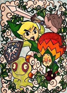 The Legend of Zelda by ~yuririn1219