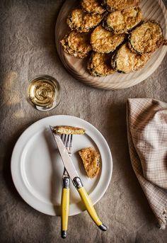 """Receta 300: Calabacines rebozados y fritos »  - 1080 fotos de cocina, proyecto basado en el libro """"1080 recetas de cocina"""", de Simone Ortega. http://www.alianzaeditorial.es/minisites/1080/index.html"""