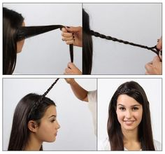 The Best 25 Useful Hair Tutorials Ever, Braided Headband Hairstyle