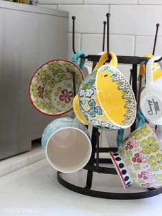 Wire cup drying rack from World Market, $14.99