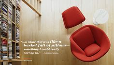 Womb Chair - Knoll womb chair