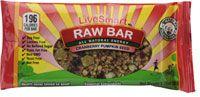 Live Smart Bar Raw Bar Cranberry Pumpkin Seed