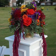Taryn + Taylor Outdoor Wedding Bouquet | @fsdallas | @diannefrance