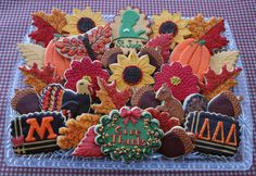 #Thanksgiving #cookies