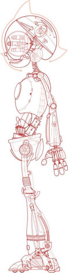 Astro Boy Schematics
