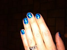 """Sally Hansen Salon Effects - Real Nail Polish Strips, """"You're a Star"""" - They really work!"""