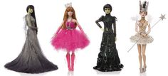 Jenny Packham, Betsey Johnson, Marc Jacobs, and Erickson Beamon-designed Wizard of Oz dolls