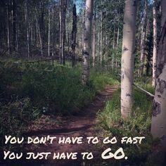 Trail running inspiration!