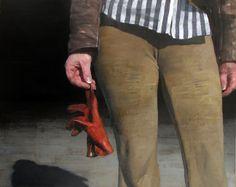 "François Bard, Le Gant, 2014, Oil on Canvas, 51"" x 63""#Art #BDG #BDGNY #Contemporary #Painting #Crop"