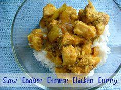 Crockpot Chinese chicken curry