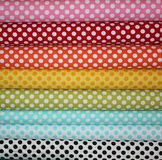 Michael Miller Ta Dot   Etsy Fabric Shoppe
