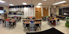 Classroom Layout - Desk Arrangement
