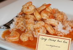 Spicy Shrimp over Success Rice for a Quick & Easy Weeknight Meal - Virtually Yours