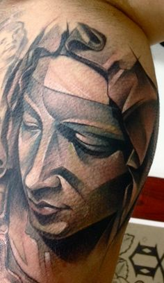tattoo by Marie Kraus OUR FUTURE TATTOO