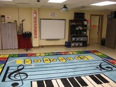 Music at Bert Raney Elementary: Pictures of the Classroom elementari music, rug, music teacher, bert raney, raney elementari, carpet, classroom ideas, music educ, music classroom