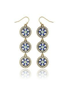Hanging Filigree Earrings from THELIMITED.com #TheLimited #Ornate #Earring #Summer2014 #LTDStyle