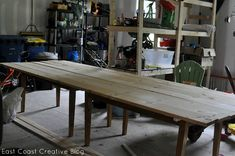 Hometalk :: Wondering how to make a Farmhouse Table on the Cheap and with little w…