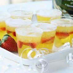 Champagne Jello Shots | foodraf