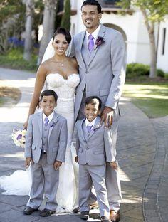 NBA guard Matt Barnes married Gloria Govan at Bacara Resort in Santa Barbara, CA on 11 August 2013