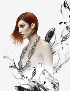 Creative Direction and Hair Color: David Adams for redCHOCOLATE   Hair Cutting and Styling: Peter Gray for Collective Shift  Makeup: Rudy Miles using Aveda at beautybyrudy  Photography: Robert Lobetta  Post Production: Kay Lobetta  Products: Aveda