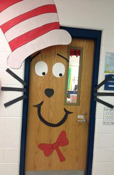 Cat In The Hat Door