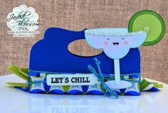 Doxie Mel Designs: Jaded Blossom Candy Caddy Die Blog Hop :: Let's Chill