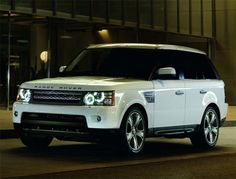 I will buy a pearl white range rover