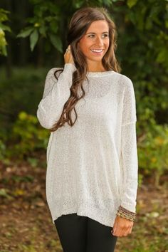Southern Comfort Sweater-Ivory