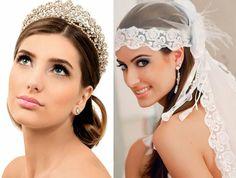Penteados e acessórios de cabelo para noivas